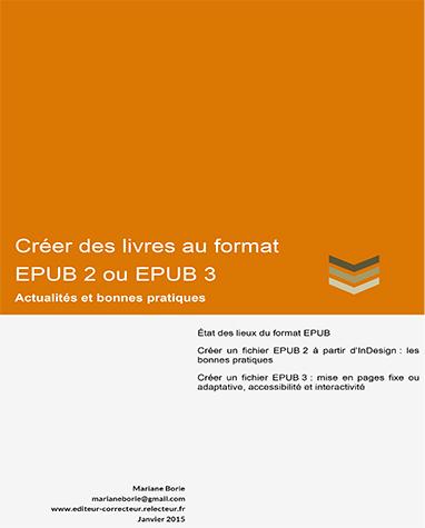 Book de formation Créer des livres au format EPUB