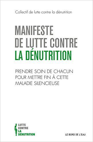 Couverture illustrant la mission de correctrice relectrice pour le Manifeste de lutte contre la dénutrition