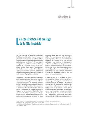 Page 77 du livre L'Hôpital et le Territoire illustrant ma mission de correctrice