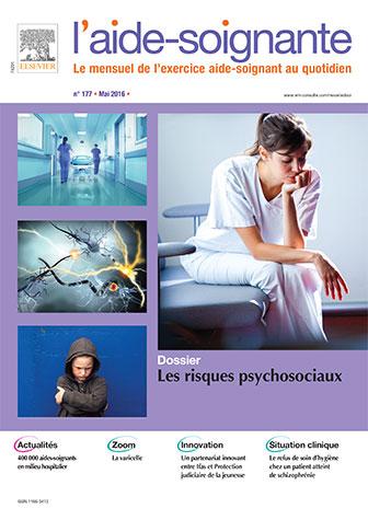 Secrétariat de rédaction de la revue L'Aide-Soignante (n° 177), Elsevier Masson