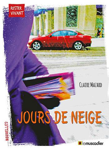 Création de l'ebook Jours de neige, éditions Le Muscadier
