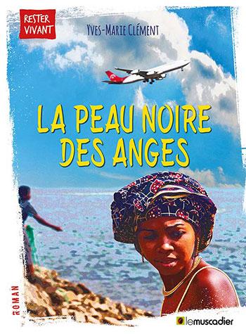 Création de l'ebook La Peau noire des anges, éditions Le Muscadier