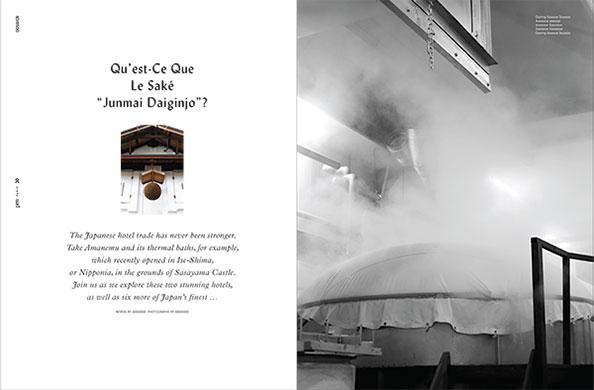 Page 20 du 3e numéro du magazine Pen France illustrant ma mission de secrétaire de rédaction