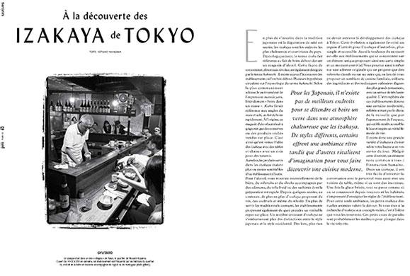 Page 62 du 3e numéro du magazine Pen France illustrant ma mission de secrétaire de rédaction