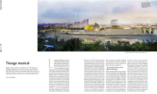 Page 12 du 3e numéro du magazine Pen France illustrant ma mission de secrétaire de rédaction