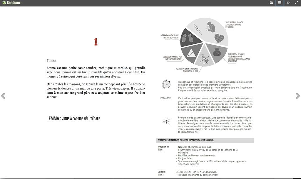 Création d'ebook : forcer un saut de page sur Readium. La première ligne du tableau est coupée. Seule l'image est chassée sur la page suivante.